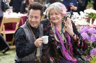 Rob Schneider and Joyce Van Patten in Columbia Pictures'