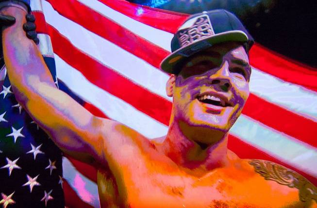 Chris Weidman is named Fighter of the Year at the ...