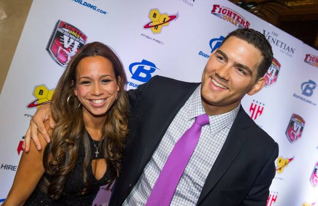 Chris Weidman, with wife Marivi, is named Fighter of the ...
