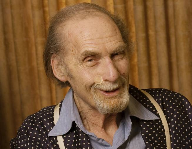 This Sept. 28, 2005, file photo shows actor Sid Caesar at his home in Beverly Hills, Calif. Caesar, whose sketches lit up 1950s television with zany humor, died Wednesday, Feb. 12, 2014. He was 91.