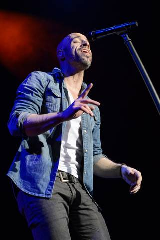 Daughtry performs at Chelsea on Friday, Feb. 14, 2014, in the Cosmopolitan of Las Vegas.