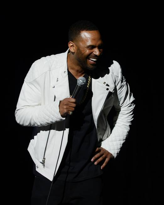Comedian Mike Epps performs at Pearl at the Palms on ...