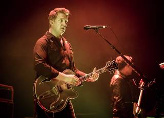 Queens of the Stone Age at the Joint on Thursday, Feb. 13, 2014, in Hard Rock Hotel Las Vegas.