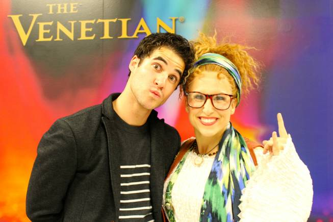 "Darren Criss and Tiffany Engen at ""Rock of Ages"" on ..."