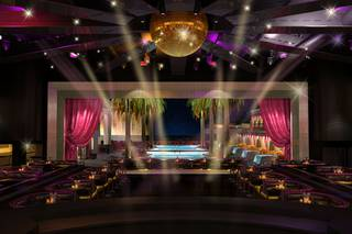 A rendering of Victor Drai's Nightclub at The Cromwell in Las Vegas set to open Memorial Day Weekend.