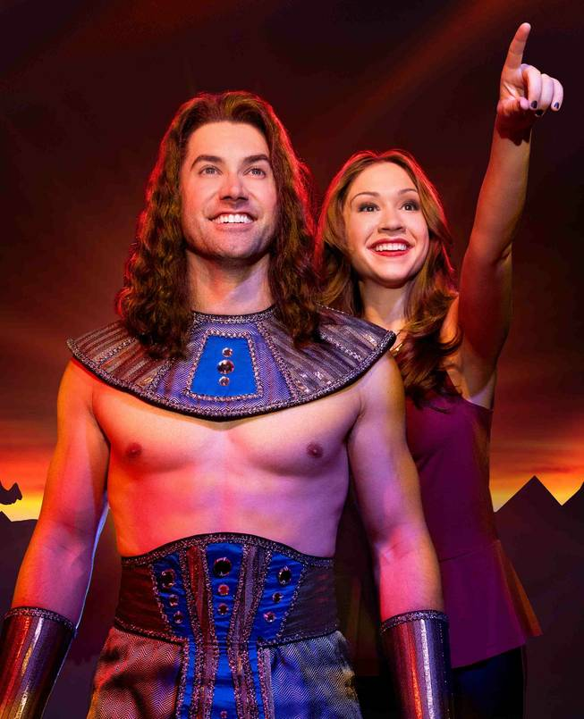 """Joseph and the Amazing Technicolor Dreamcoat"" is part of Broadway Season 3 at The Smith Center for the Performing Arts in downtown Las Vegas. Real-life husband-and-wife and ""American Idol"" alumni Ace Young and Diana DeGarmo are pictured here."