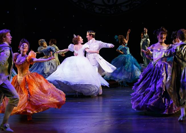 """Cinderella"" is part of Broadway Season 3 at The Smith Center for the Performing Arts in downtown Las Vegas. Laura Osnes and Santino Fontana are pictured here."
