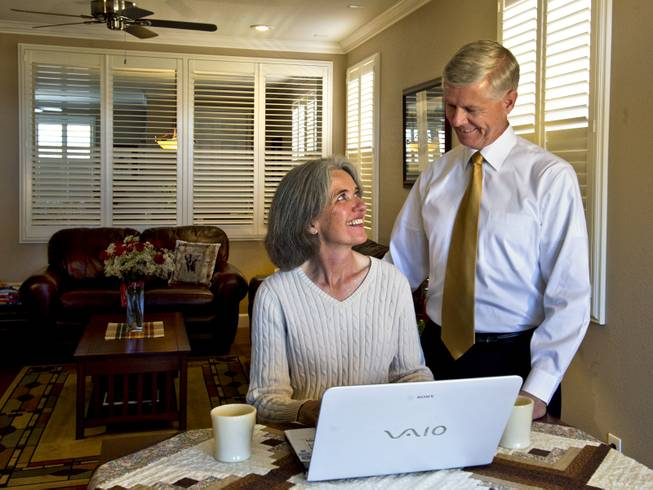 Kerry Bowers and his wife, Deb, work on the website kerrybowers.com. He's a Republican from Henderson who has decided to run for president.
