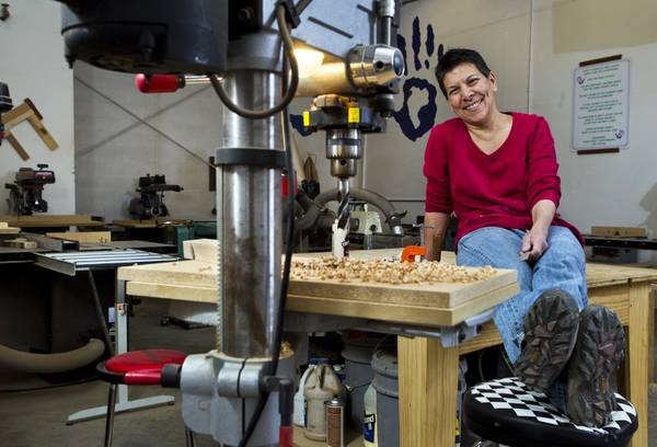 Woodworking Teacher Carves Her Niche In Diy Industry Vegas Inc