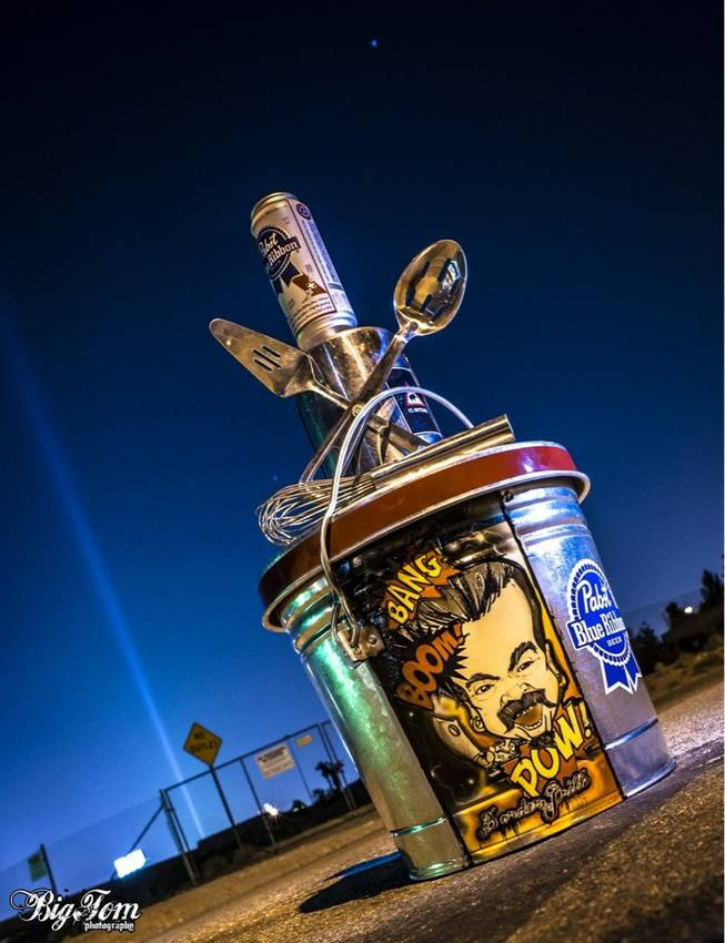 "For almost two years, chefs from the Strip and around the Las Vegas Valley have met every few weeks, just after midnight Sundays, trying to cook the tastiest meal in food trucks in the ""Back of the House Brawl"" for the honor of holding this traveling trophy."