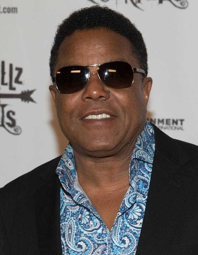 "The grand opening night of The Jacksons in ""Rocktellz & Cocktails"" on Saturday, Feb. 22, 2014, in Planet Hollywood."