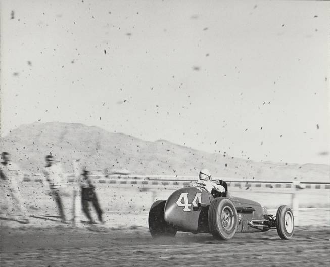 Indy sprint cars raced on the Joe W. Brown dirt track where the .International Hotel (later Hilton and now the LVH) was built in the 60s. .The same track also served as Las Vegas Park for horse racing, but the  sport never met the town's (or project financier's) expectations.