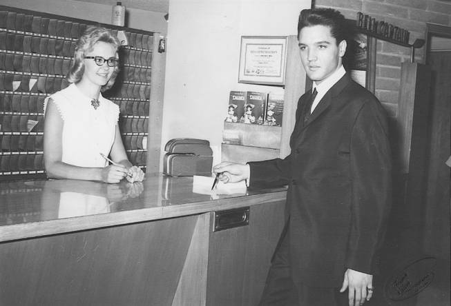 Elvis checks into the Sahara on July 14, 1963.  Elvis started filming .Viva Las Vegas with Ann Margaret the next day.