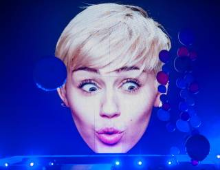 Miley Cyrus performs at MGM Grand Garden Arena on Saturday, March 1, 2014, in MGM Grand.
