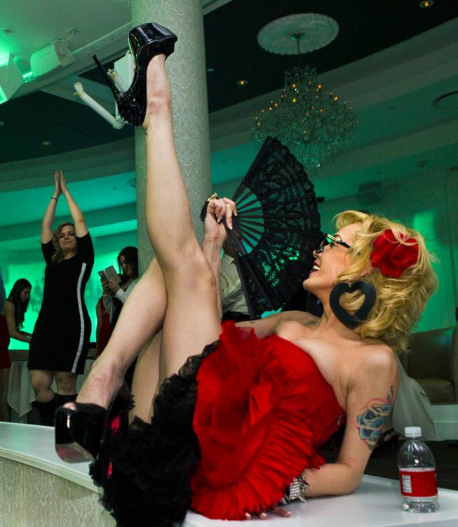 Las Vegas Weekly's Unscripted Party featuring Stifler in the Havana Room on Tuesday, March 4, 2014, at the Tropicana.