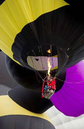 Michael Glen, the worlds first paraplegic hot air balloon pilot, will be flying in the 2014 Pahrump Balloon Festival.