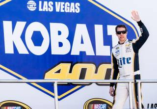 The Kobalt 400 NASCAR Sprint Cup Series won by Brad Keselowski on Sunday, March 9, 2014, at Las Vegas Motor Speedway.