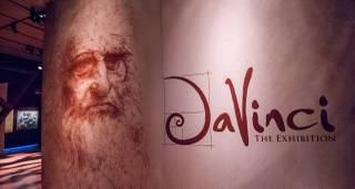 """Da Vinci: The Exhibition"" at the Venetian."