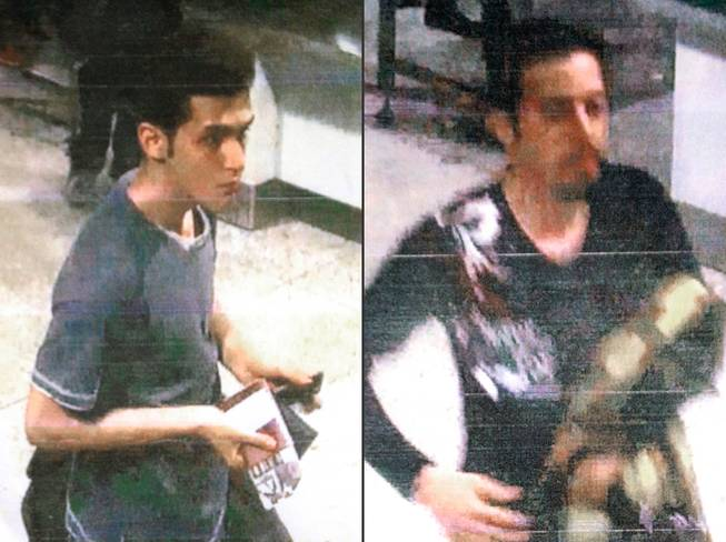 This combination of images released by Malaysian police during a news conference in Sepang, Malaysia, on Tuesday, March 11, 2014, shows an Iranian identified by Malaysian Police as Pouria Nour Mohammad Mehrdad, who Malaysian authorities say is 19, although Interpol's information indicated an age of 18, left, and 29-year-old Iranian Delavar Seyedmohammaderza. The men boarded the now missing Malaysia Airlines jet MH370 with stolen passports.