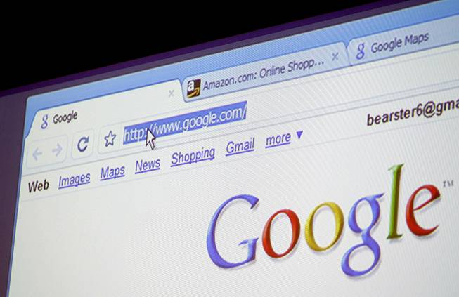 Google Chrome, Google Inc.'s Web browser, is shown during a news conference at the company's headquarters in Mountain View, Calif., Tuesday, Sept. 2, 2008.
