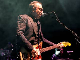 Elvis Costello and The Roots perform at Brooklyn Bowl on Saturday, March 15, 2014, in the Linq.