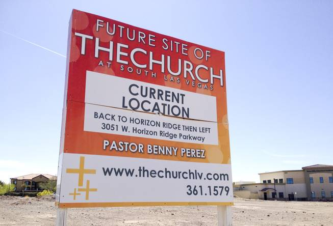 The Church LV has sold the land where it planned to build its future home to Acadia Healthcare Co. The land, on Jeffreys Street near Horizon Ridge Parkway in Henderson, is seen above on March 17, 2014.