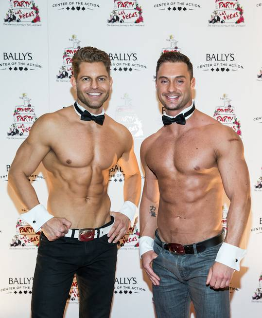 "Chippendales at the Rio and ""The Amazing Race"" stars Jaymes ..."