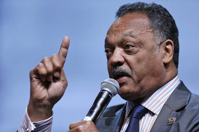 The Rev. Jesse Jackson speaks as he takes part in a panel discussion during the National Urban League's annual conference, in Philadelphia, July 26, 2013.