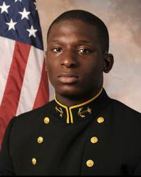 This July, 24, 2013, file photo provided by the U.S. Naval Academy shows Midshipman Joshua Tate, a former U.S. Naval Academy football player.