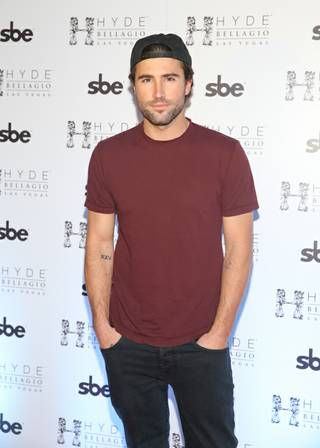 Brody Jenner hosts and parties at Hyde Bellagio on Saturday, March 22, 2014, in Las Vegas.