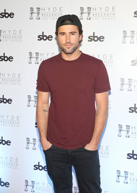 Brody Jenner hosts and parties at Hyde Bellagio on Saturday, ...