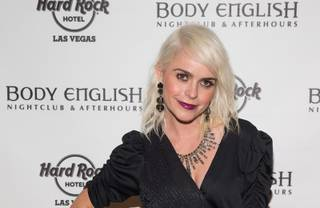 Taryn Manning at Body English on Friday, March 21, 2014, in Hard Rock Hotel Las Vegas.