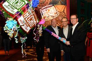 The grand opening of Hecho en Vegas on Wednesday, March 26, 2014, at MGM Grand.