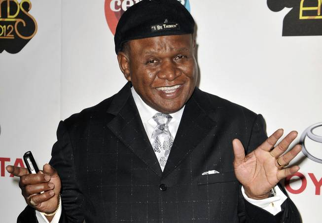 In this Nov. 8, 2012, file photo, actor and comedian George Wallace arrives at the Soul Train Awards in Las Vegas.