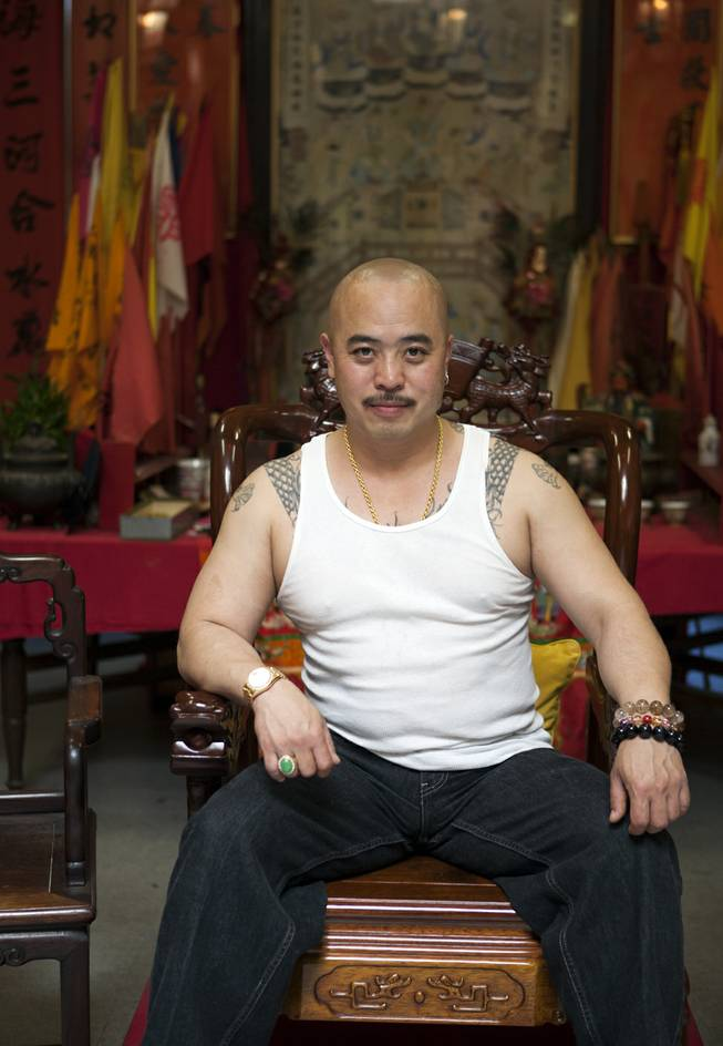 "In this image provided by Jen Siska, Raymond ""Shrimp Boy"" Chow, is seen posing for a portrait in San Francisco in July 2007."