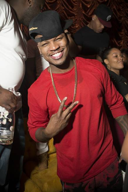 Ne-Yo is all smiles at Surrender on Friday, March 28, ...