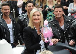 Olivia Newton-John Arrives at Flamingo