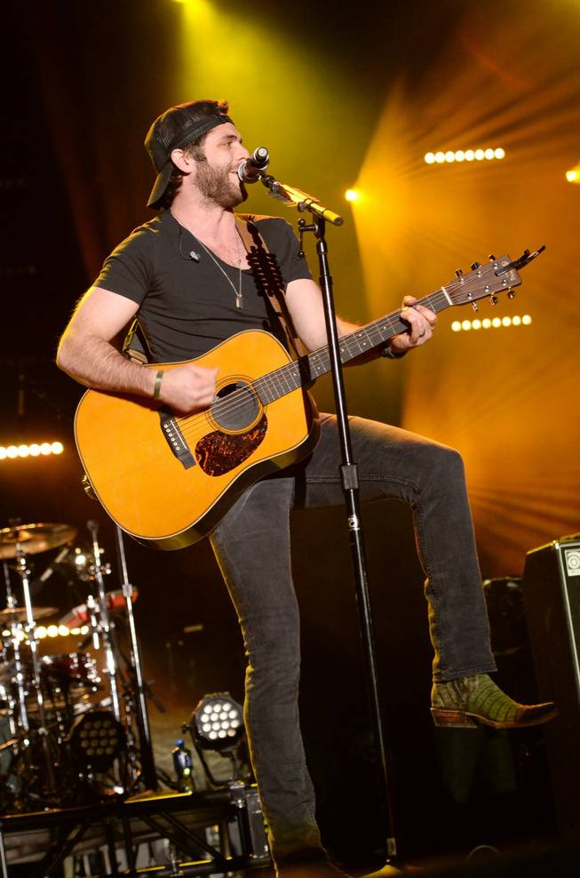 Thomas Rhett at the 2014 ACM Party for a Cause on Friday, April 4, 2014, at the Linq.