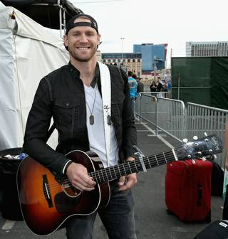 Chase Rice at the 2014 ACM Party for a Cause on Friday, April 4, 2014, at the Linq.