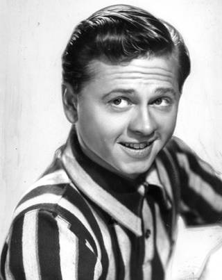 Actor, singer and dancer Mickey Rooney is shown in this undated photo.