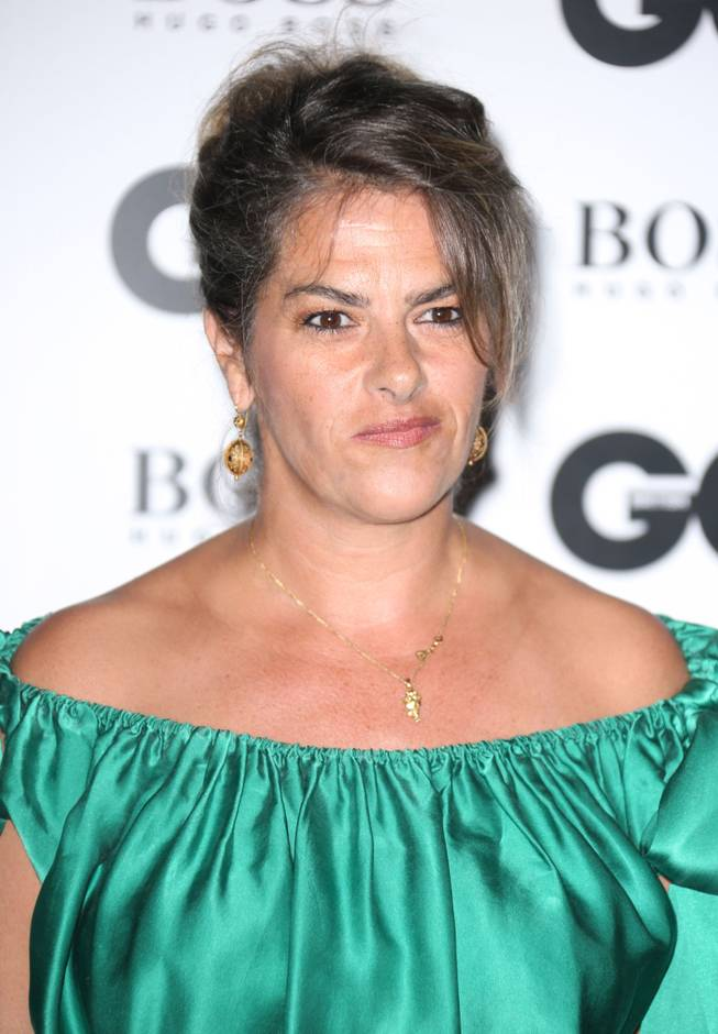 Tracey Emin arrives at GQ Men of the Year Awards, on Tuesday, September 3rd, 2013 in London.