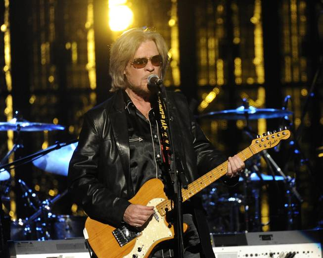 Hall of Fame Inductee, Hall and Otes, Daryl Hall performs at the 2014 Rock and Roll Hall of Fame Induction Ceremony on Thursday, April, 10, 2014 in New York.