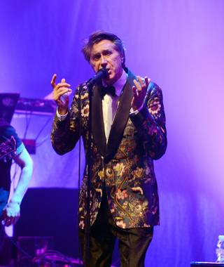 Bryan Ferry performs at Pearl at the Palms on Saturday, April 12, 2014, in Las Vegas.