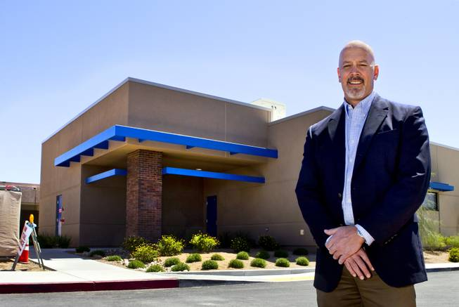 Boulder City Hospital CEO Tom Maher is overseeing the nonprofit organizations efforts to recover financially through an expansion and renovation project on Monday, April 14, 2014.