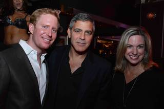 George Clooney at Hyde Bellagio on Wednesday, April 9, 2014, in Las Vegas.