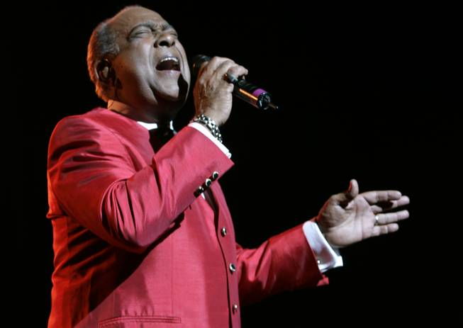 In this June 20, 2008, file photo, Cheo Feliciano performs at The Theater at Madison Square Garden, in New York. The Puerto Rican salsa legend Feliciano died in a car accident early Thursday April 17, 2014, in the U.S. territory. He was 78.