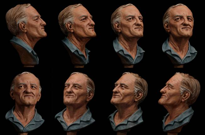 Age-enhanced illustrations of William Bradford Bishop, Jr., wanted for the brutal murders of his wife, mother and three sons in Maryland nearly four decades ago. Bishop has been named to the Ten Most Wanted Fugitives list. A reward of up to $100,000 is being offered for information leading directly to the arrest of Bishop, a highly intelligent former U.S. Department of State employee who investigators believe may be hiding in plain sight.
