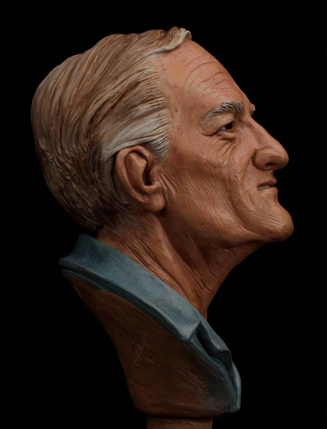 An age-enhanced illustration of William Bradford Bishop, Jr., wanted for the brutal murders of his wife, mother and three sons in Maryland nearly four decades ago. Bishop has been named to the Ten Most Wanted Fugitives list. A reward of up to $100,000 is being offered for information leading directly to the arrest of Bishop, a highly intelligent former U.S. Department of State employee who investigators believe may be hiding in plain sight.