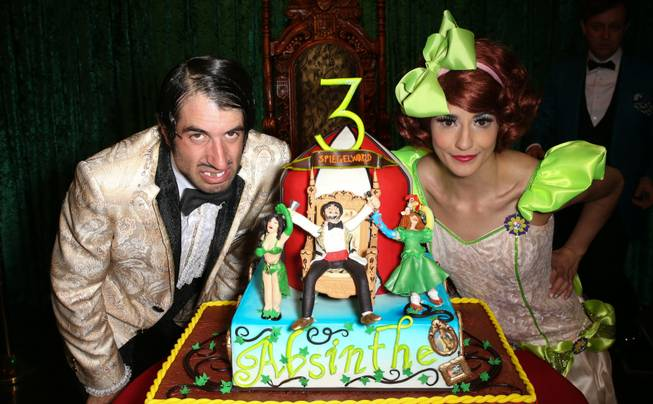 "The Gazillionaire and Penny Pibbets of ""Absinthe"" celebrates its third ..."
