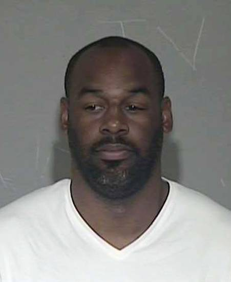 In a photo provided by the Maricopa County Sheriff's Office, former NFL quarterback Donovan McNabb appears in a photo at jail. McNabb has been released from an Arizona jail after serving a one-day sentence for a DUI arrest late last year.